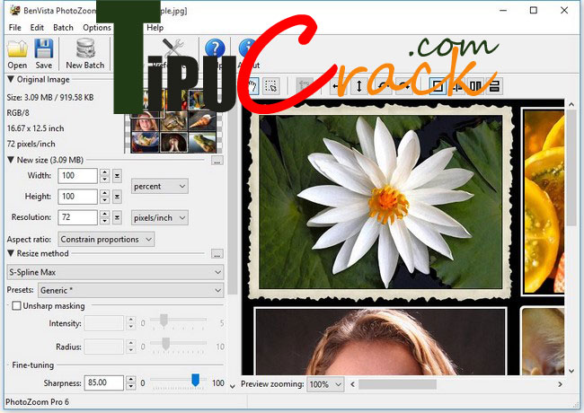 BenVista PhotoZoom Pro 7 Crack Full Version Download