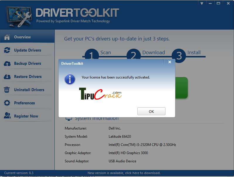 Driver Toolkit License Key With Crack Free Download