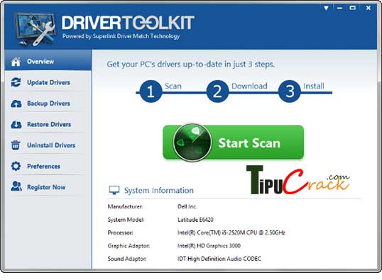 Driver Toolkit License Key And Crack Full [Latest] Version Download