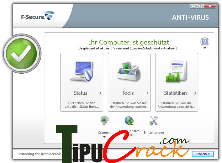 F-Secure Antivirus 2016 Crack Full Version Download