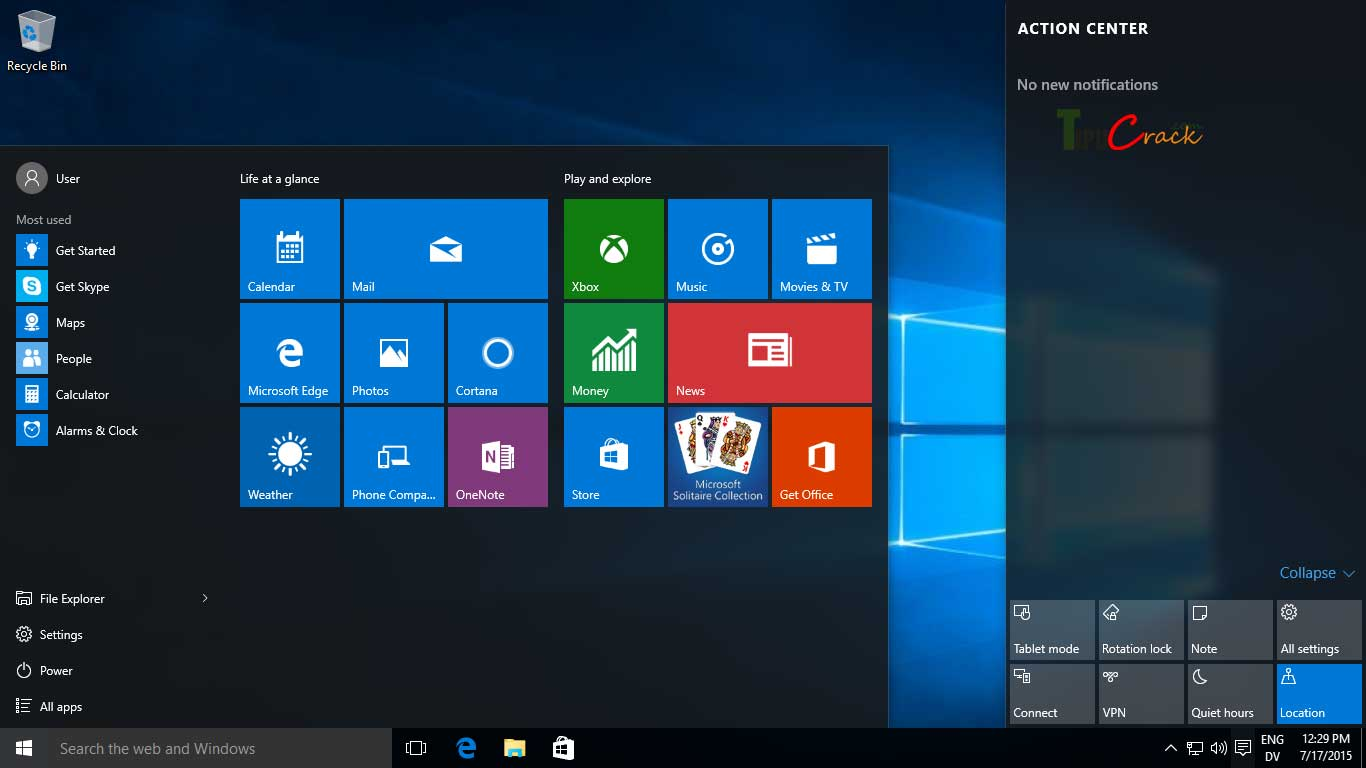 Windows 10 Pro Product Key And Crack Full Version Download