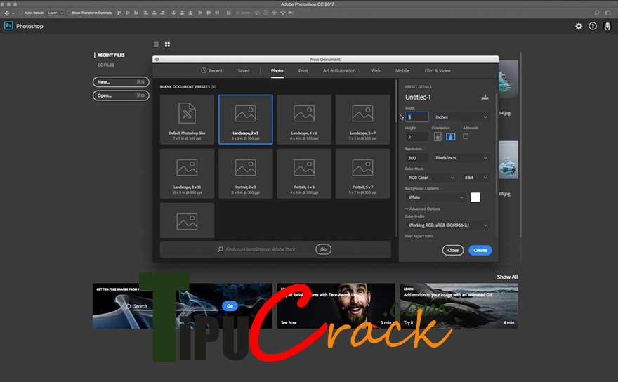 Adobe Photoshop CC 2017 v18.0.0 Crack Full Version Download