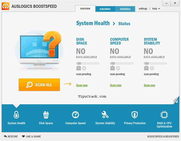 Auslogics BoostSpeed Key 9.1.1.0 With Crack Full Version Download