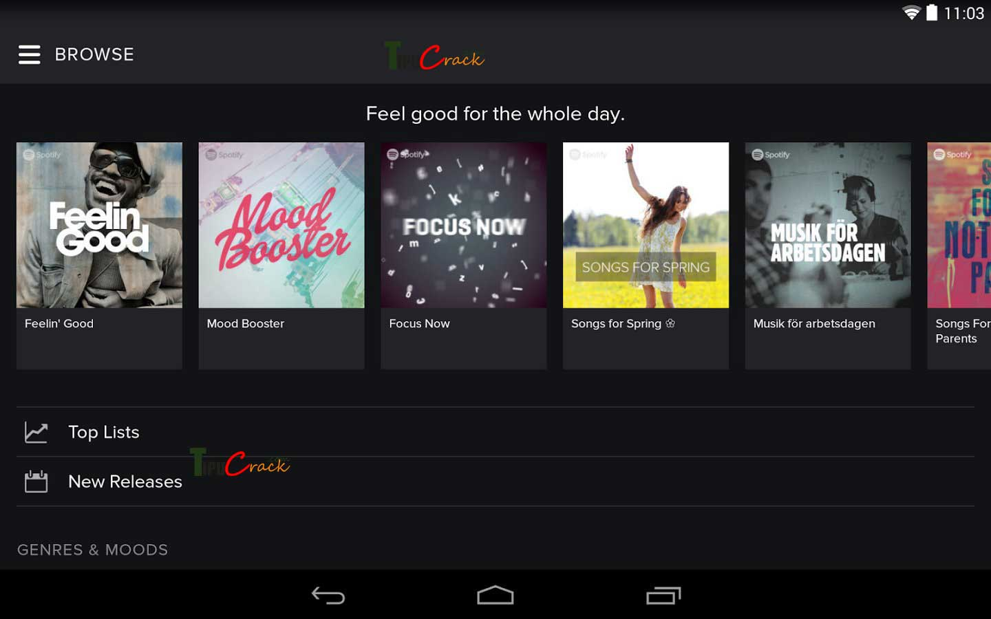 Spotify Music Premium v2.7.0.883 Free Download