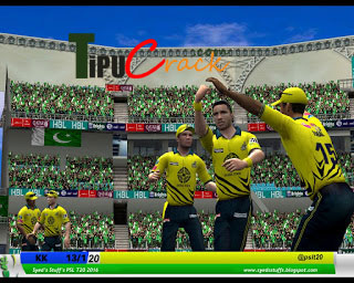 PSL Cricket Game 2016 For PC [Free] Download Full Version