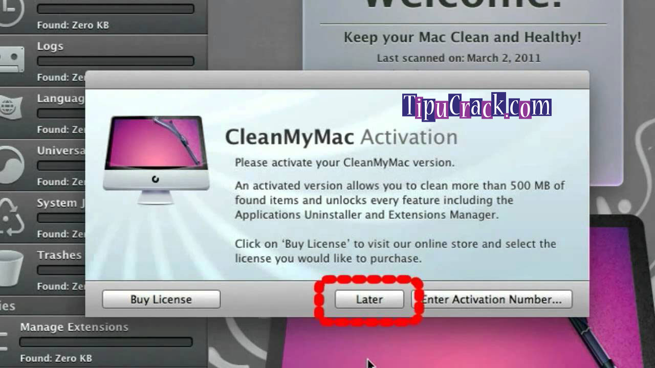 clean my mac3 activation number