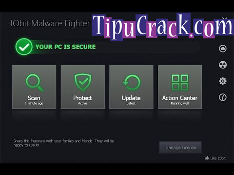 Iobit Malware Fighter 4 Key, Crack Free Download Free!
