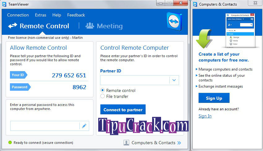 TeamViewer 12 Crack Patch + License Key Free Download