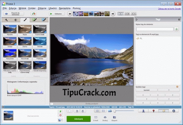 Picasa 3.9 Crack Build 138.151 Free Download Latest Version