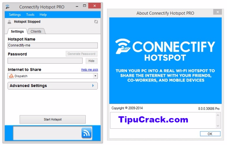 Connectify Hotspot Crack 2017 And License Key Full Version Download