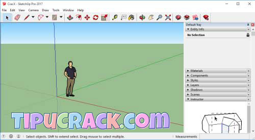 SketchUp 2016 Crack Plus Serial Key Full Latest Version