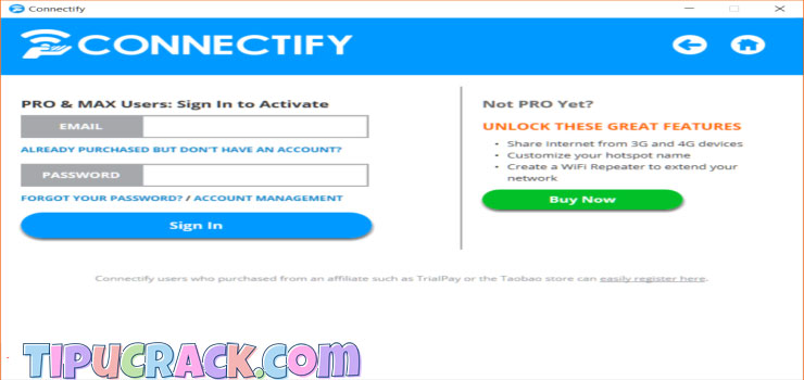 Connectify Hotspot 2016 Crack & Serial Key Full Version Download
