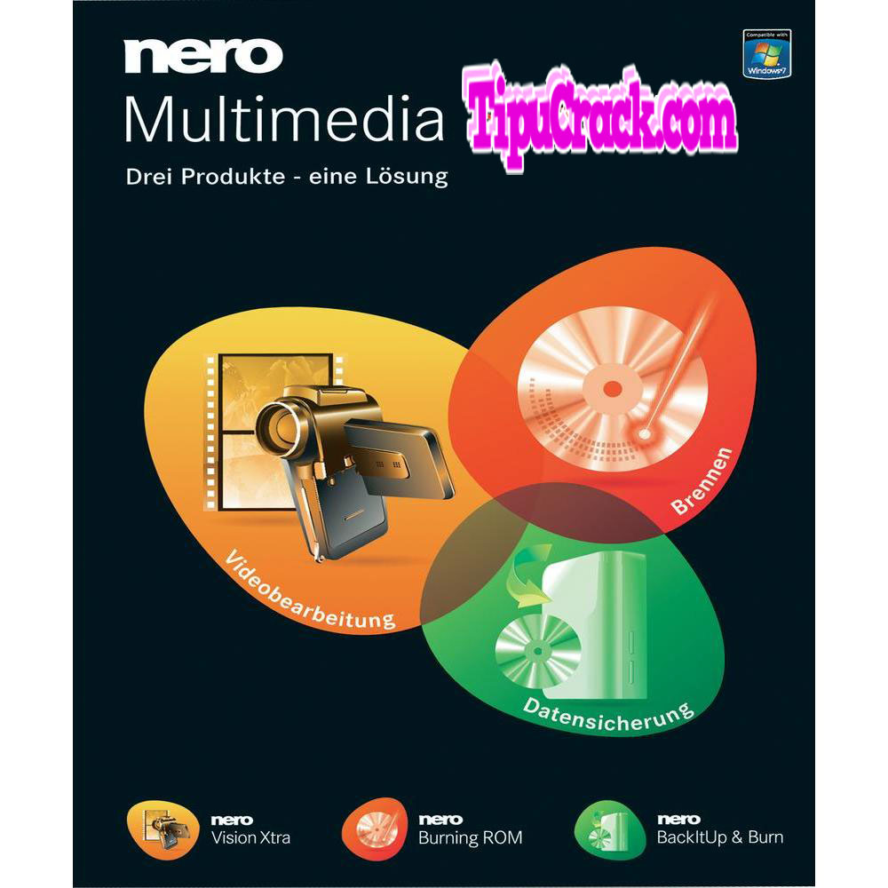 Nero Multimedia Suite 12 Crack Plus Serial Key Free Download