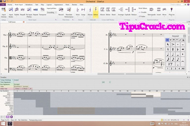 Avid Sibelius 8 Serial Key & Keygen Full Version Free Download