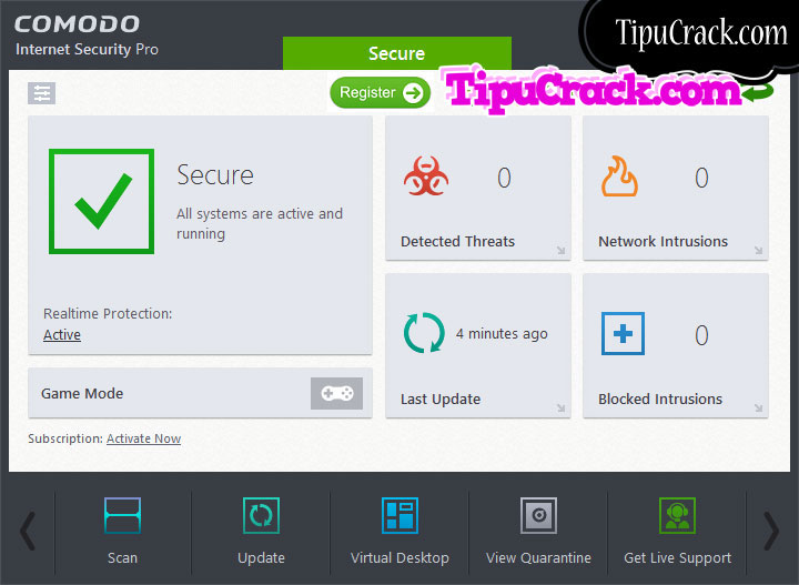 Comodo Internet Security Pro 10 License Key With License Key Free Download
