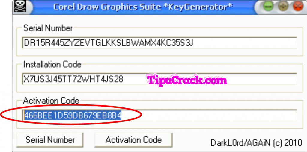 corel draw x5 keygen activation