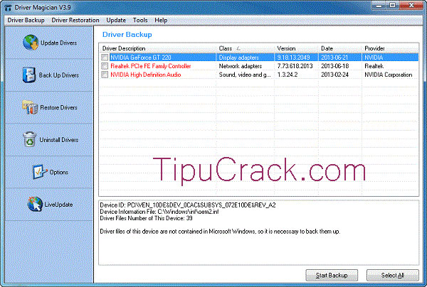 Driver Magician 4.9 Serial Key And Keygen Full Latest Version Download