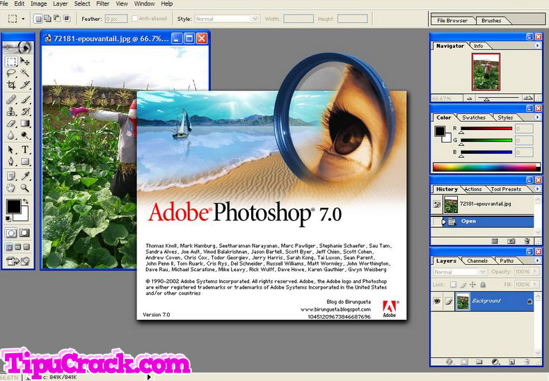 serial number adobe photoshop 7.0