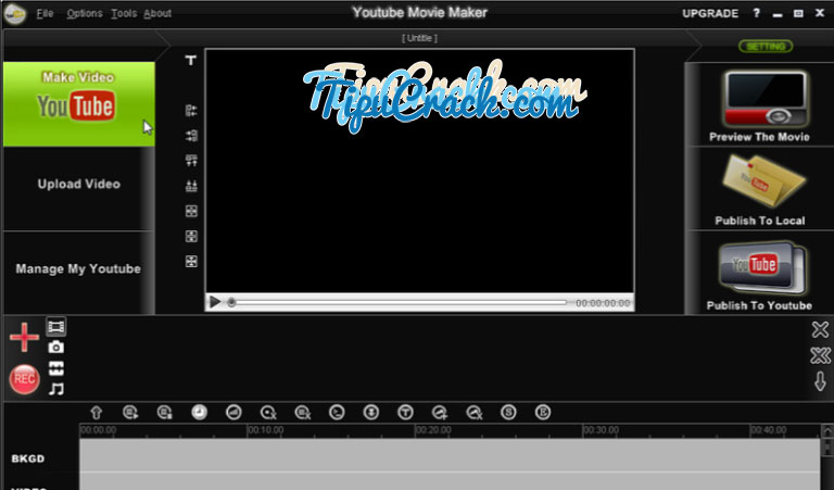 YouTube Movie Maker 16.02 Crack Plus Patch Free Download