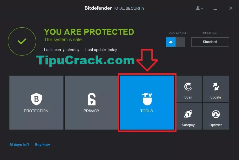 Bitdefender Total Security 2017 Crack With Key Latest Free Download