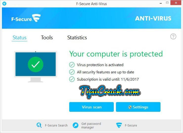 F-secure Antivirus 2017 Crack & Serial Key Latest Free Download