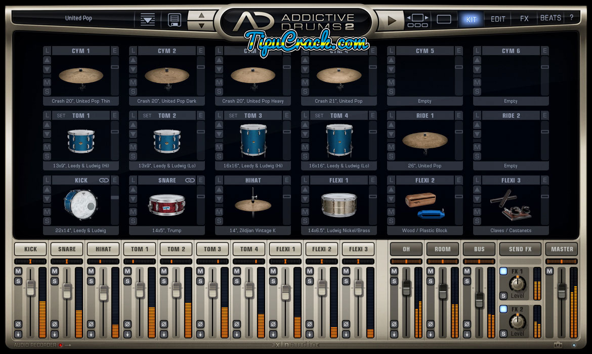 Addictive Drums 2 Crack With Keygen Full Latest Version