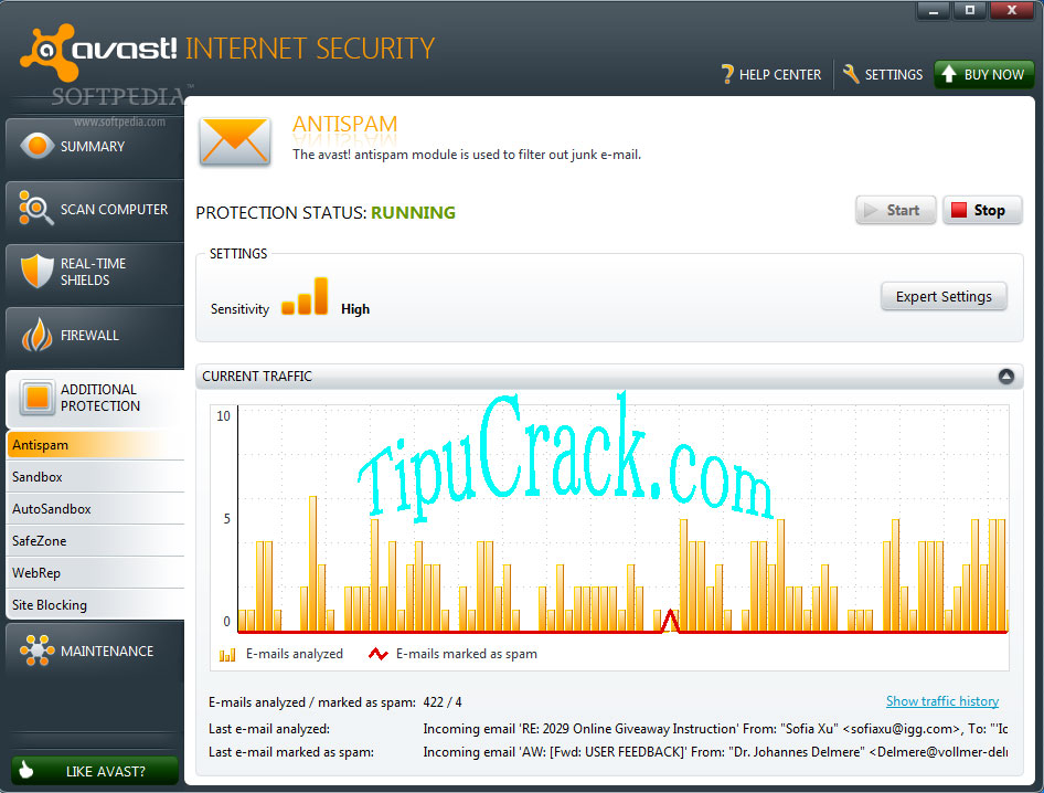 Avast Internet Security 2016 Key & Crack Full Latest Version Download