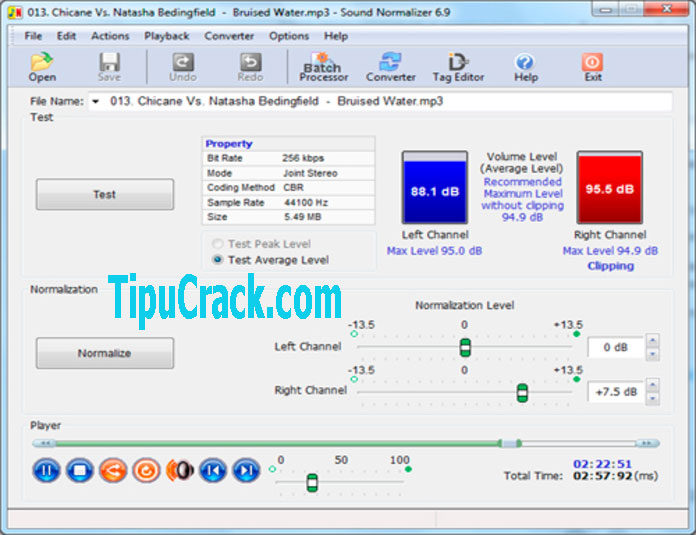 Sound Normalizer 7.9 Crack + Serial Key Latest Free Download