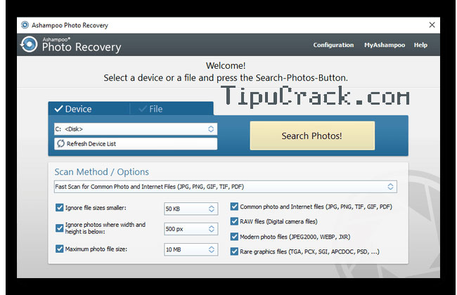 Ashampoo Photo Recovery 1.0.5.234 Crack With Product Key Free Download