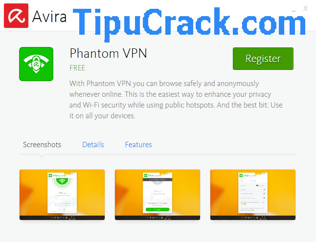Avira Phantom VPN Pro 2.7.1 Crack With Key Full Free Download