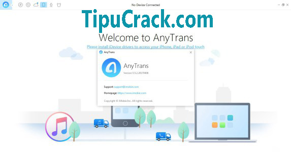 iMobie AnyTrans 5.5.2 Crack + License Code Latest Free Download