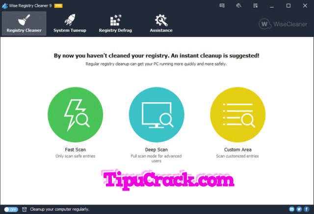 Wise Registry Cleaner Pro 9.44.615 Key With Crack Free Download