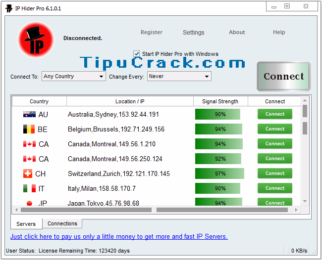 IP Hider Pro 6.1.0.1 Crack With Serial Key Full Version Download